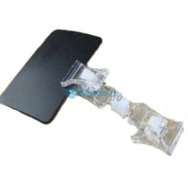 Ценникодержатель прищепка двойная с меловой табличкой