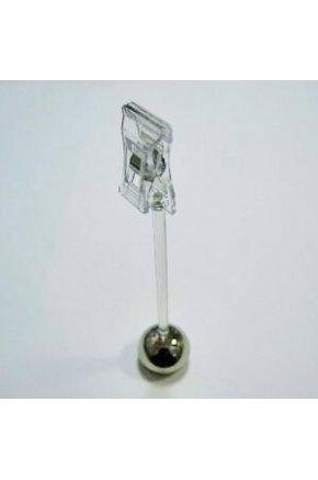 Ценникодержатель на магните с прищепкой