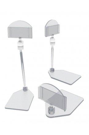 Ценникодержатель для сыра на подставке - комплект из 3 частей
