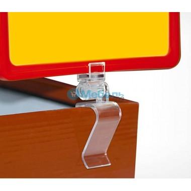 Держатель рамки с зажимом с рамкой и протектором
