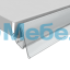 Ценникодержатель для профильных полок LST39