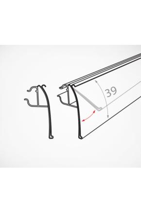 Шелфтокер для металлических прутьев откидной ФРВ