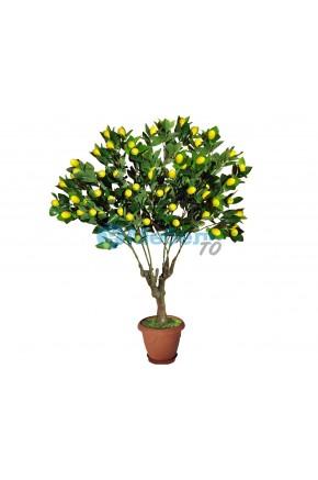 Искусственное дерево с лимонами муляж