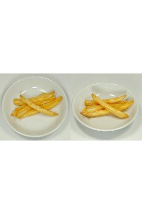 Искусственная картошка Фри  муляж