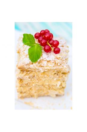 Искусственный десерт Наполеон муляж