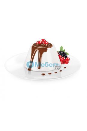 Искусственный десерт панакота муляж