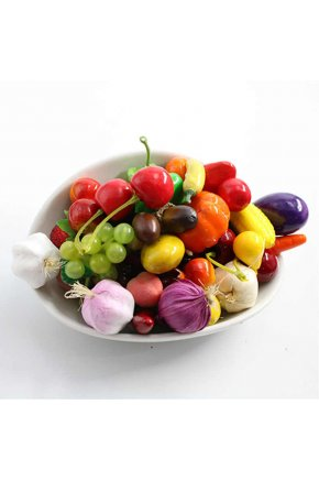 Муляжи искусственных фруктов под заказ