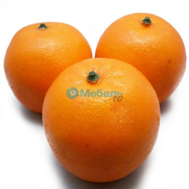 Искусственный апельсин муляж