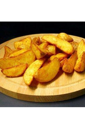 Искусственный картофель по деревенски (ломтики) муляж
