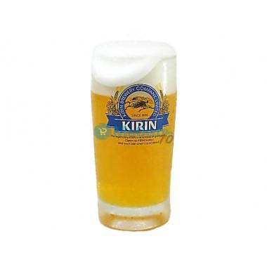 Муляж кружки пива «Kirin» с пышной пеной (435 мл)