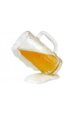 Муляж наклоненой кружки пива (330 мл)