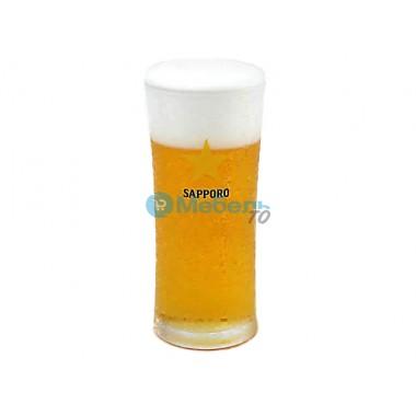 Муляж стакана пива «Sapporo» (240 мл)