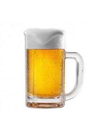 Муляж кружки пива с пышной пеной 435мл