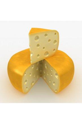 Муляжи круглого сыра под заказ