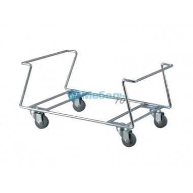Подставка универсальная BH-3 на колесах под корзины