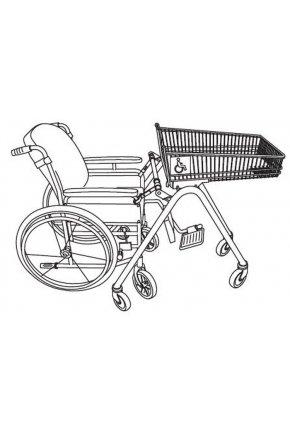 Тележка покупательская для инвалидов TFD