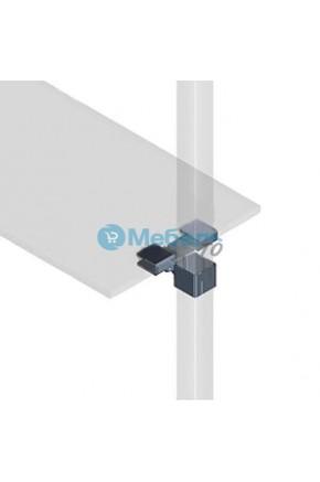 Держатели для стекла на квадратную трубу (комп. 6шт.)