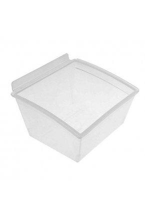 Короб пластиковый прозрачный