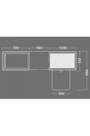 Кассовый бокс Stream-L-260-T120