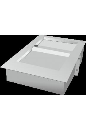 Лоток банковский с полимерно-порошковым покрытием без бронекороба
