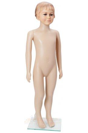 Манекен детский пластиковый CFF-110-W - девочка