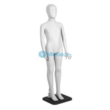 Манекен детский KT-5 WHITE глянец 139 см