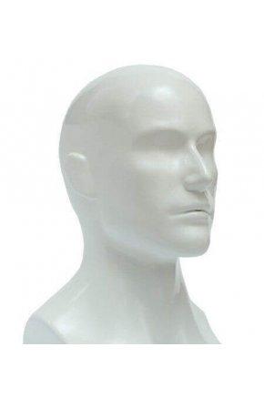 Манекен голова мужская глянцевая Г-402