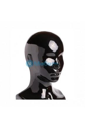 Манекен голова женская глянцевая Г-401