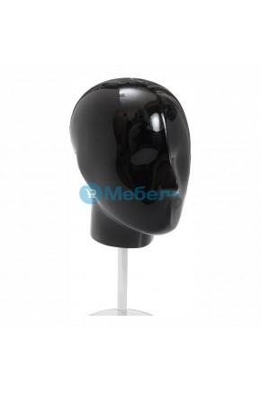 Голова манекена на стеклянной подставке HEAD-M-W