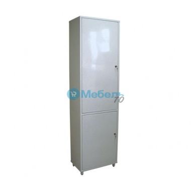Шкаф медицинский металлический двухстворчатый