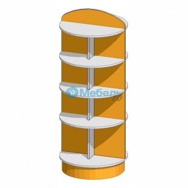 Стеллаж островной для аптеки  700х700х1500 мм