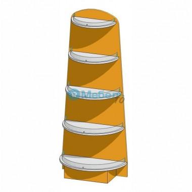 Приставка торцевая для аптеки  600х316х1500 мм