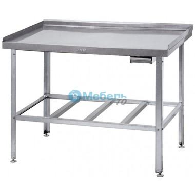 Стол разделочно производственный бортом ДМ-Н