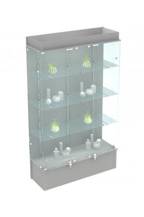Витрина стеклянная с подсветкой В-703
