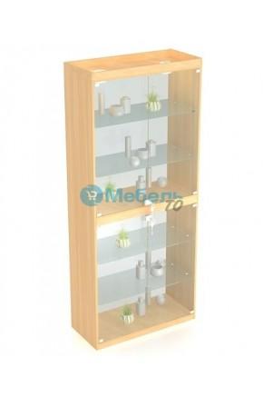 Торговый шкаф витрина В-406