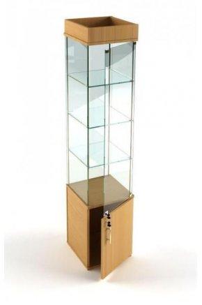 Стеклянная витрина малая В-52