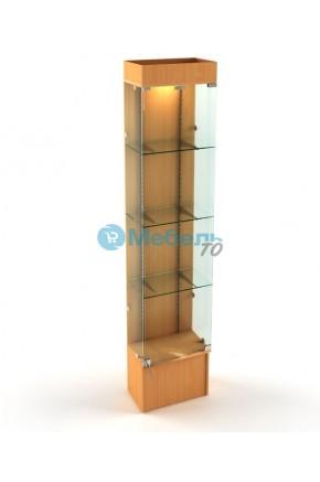 Витрина стеклянная с подсветкой В-701